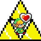 8 Bit Link, the legend of Zelda - Pixel by salodelyma
