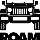 ROAM Off Road Rambler Sticker by ROAM  Apparel