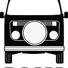 ROAM VW Bay Window Campervan  by ROAM  Apparel
