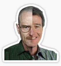 Malcom in the Middle Vs Breaking Bad Sticker