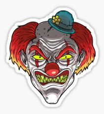 Badass Clown Sticker