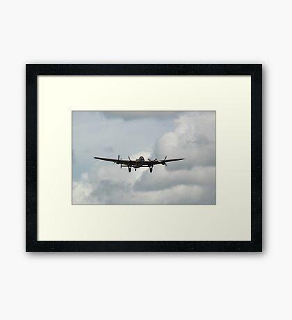 Avro Lancaster Bomber WW2 Framed Print