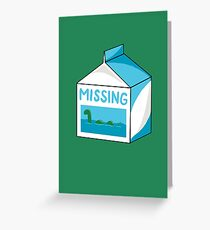 Missing Greeting Card