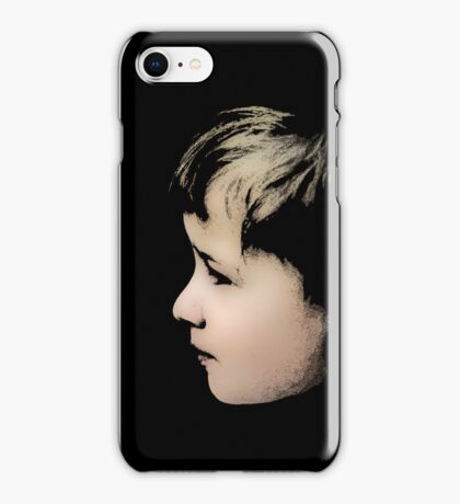Little boy (T-Shirt & iPhone case) iPhone Case/Skin