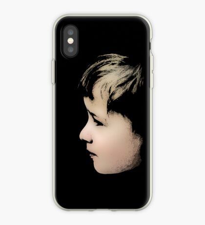Little boy (T-Shirt & iPhone case) iPhone Case