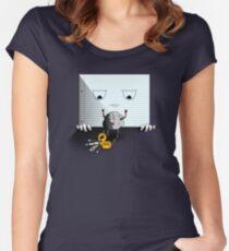 Rock, Paper, Scissors Women's Fitted Scoop T-Shirt