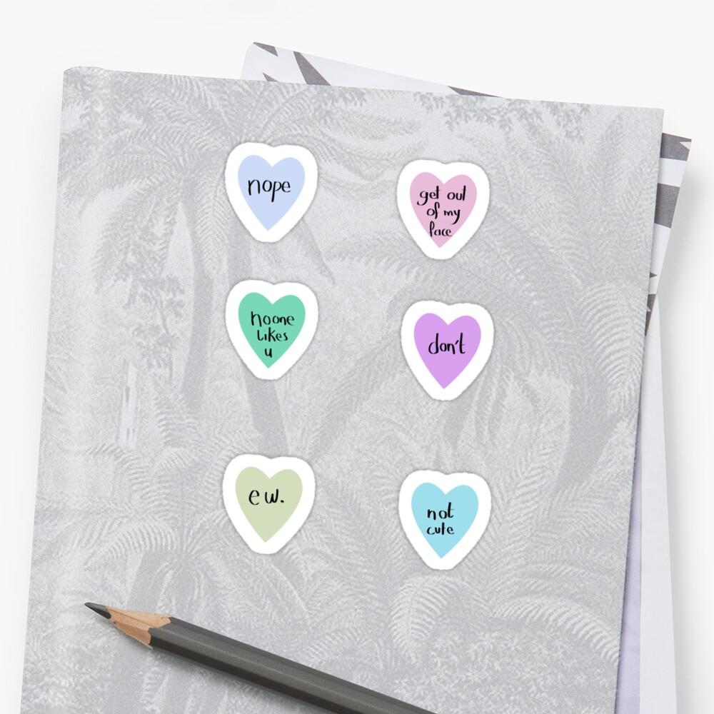 sassy hearts – 6 pack by salvva