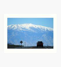 Sierra Nevadas Art Print