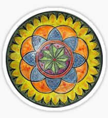 Ornate Star Mandala  Sticker