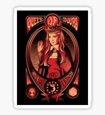 Queen of Moons sticker Sticker