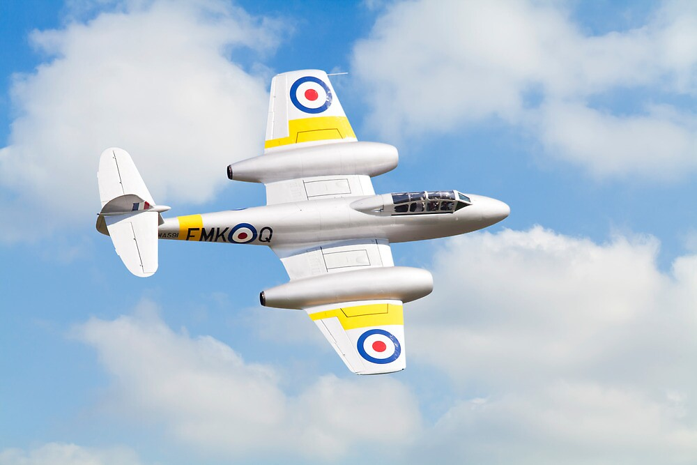 Gloster Meteor T7 by Ian Merton