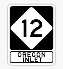 NC 12 - Oregon Inlet Sticker