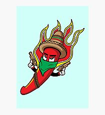 Mr. Spicy HOT Photographic Print