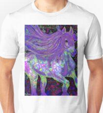 Fantsy Horse Abstract Mosaic Unisex T-Shirt