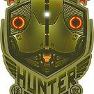 Kaiju Hunter Cherno STICKER by Bamboota