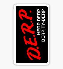 DERP (Decal) Sticker