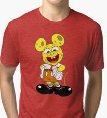 Sponge mickey Tri-blend T-Shirt