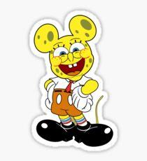 Sponge mickey Sticker