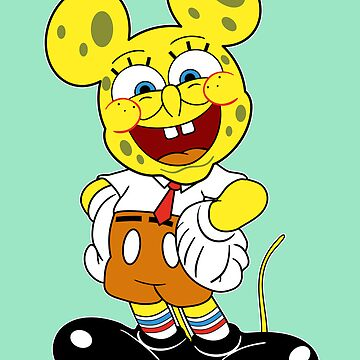Sponge mickey by fortunefactory