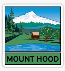 Oregon Scenic Byway - Mount Hood Sticker