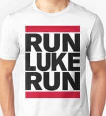 RUN LUKE RUN (Black font) T-Shirt