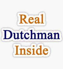Real Dutchman Inside Sticker