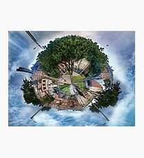 The Big Tree, The Little Planet. Photographic Print