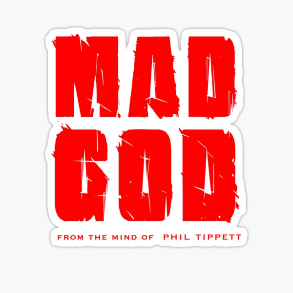 MadGod Logo in Iconic Red Sticker