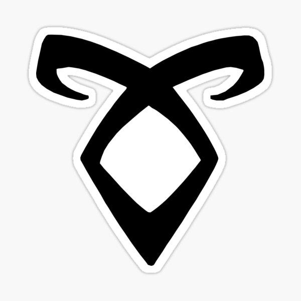 Rune angélique Sticker