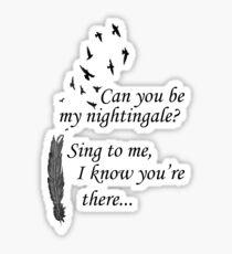 My Nightingale Sticker
