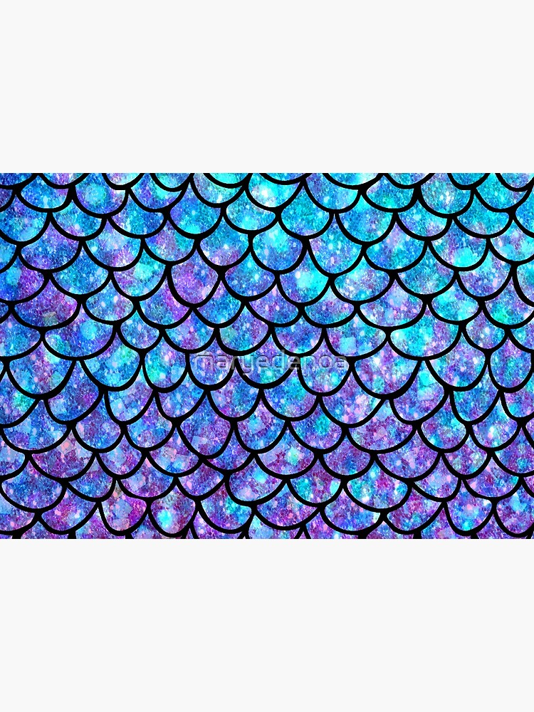 Purples & Blues Mermaid scales by maryedenoa