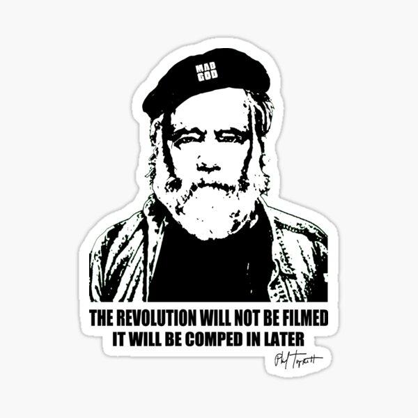 MadGod Revolution in WhiteBalance Sticker