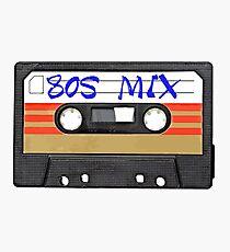 80s MIX - Music Cassete Tape Photographic Print