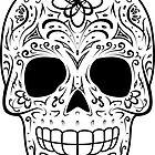Sugar Skull - Traditional von hmx23