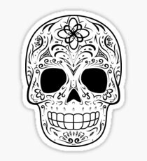 Sugar Skull - Traditional Sticker