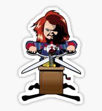 Child's Play 2 (Chucky) Sticker