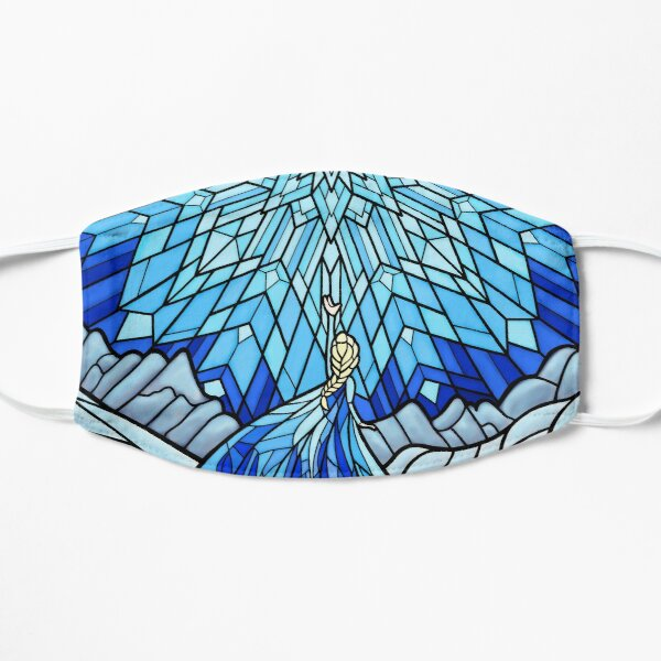 Frozen Fractals in the Stained Glass Window Mask