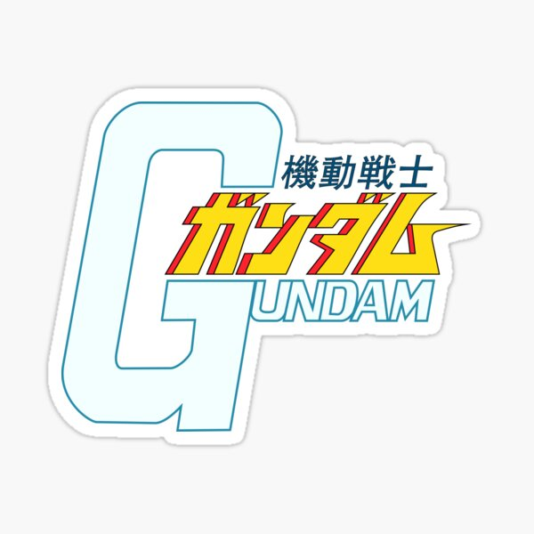 Gundam Orignial - Title Logo JP Sticker