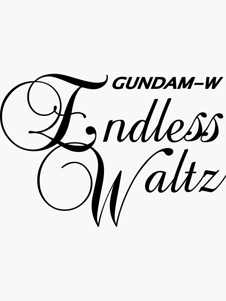 Gundam Wing Endless Waltz - Title Logo by UndeadWraith