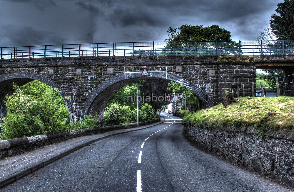 To The Viaduct. by ninjabob