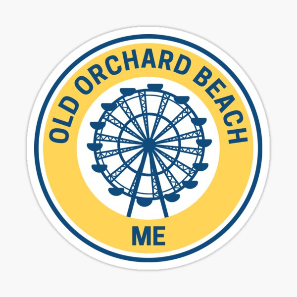 Vintage Old Orchard Beach Maine Sticker