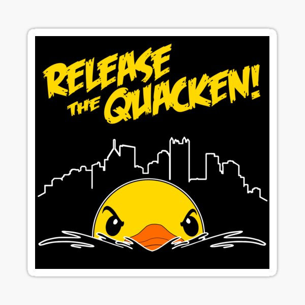 Release The Quacken Sticker Sticker