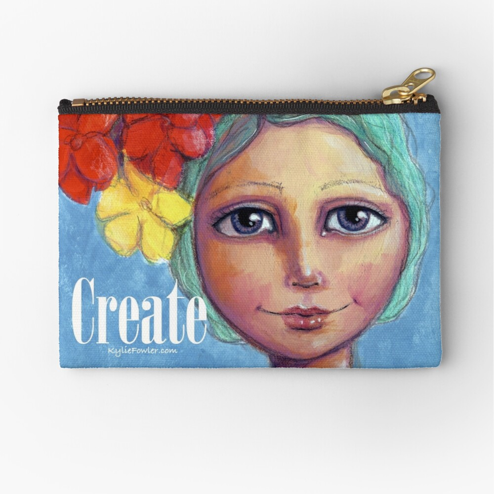 Wear Your Bliss - By Kylie Fowler Zipper Pouch