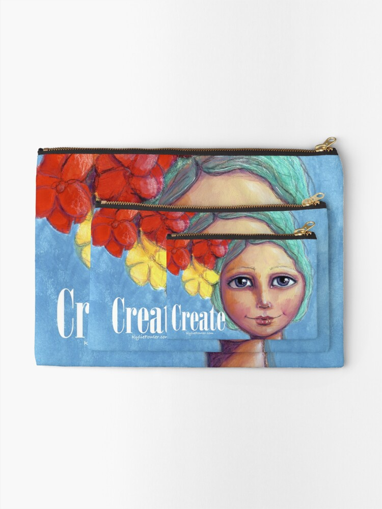Alternate view of Wear Your Bliss - By Kylie Fowler Zipper Pouch