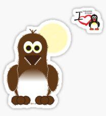 Halloween Penguin - Werewolf (Werepenguin!) Sticker