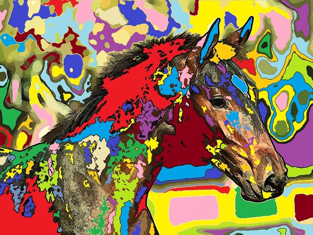 horse Portrait 6 by adriantovnodtov