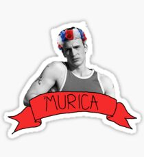 captain 'murica Sticker