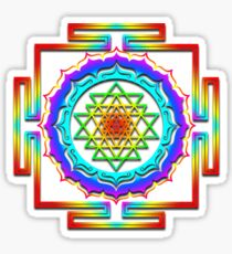 Shri Yantra - Cosmic Conductor of Energy Sticker