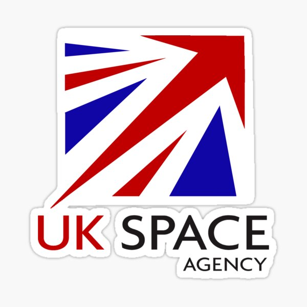 Logo de l'Agence spatiale du Royaume-Uni Sticker