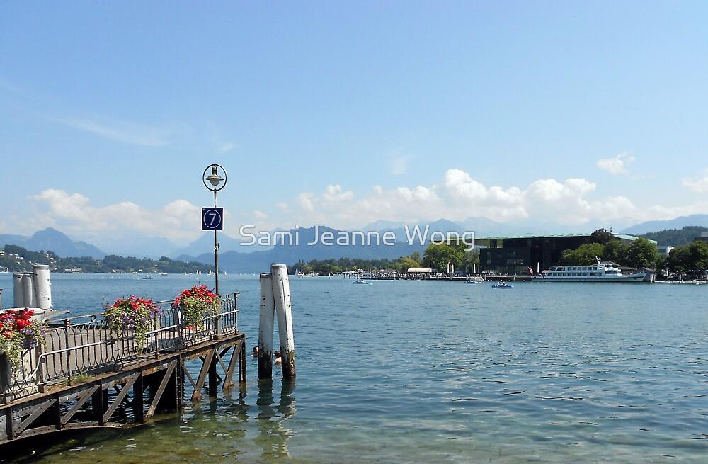Lake Lucerne, Switzerland by Sami Jeanne Wong